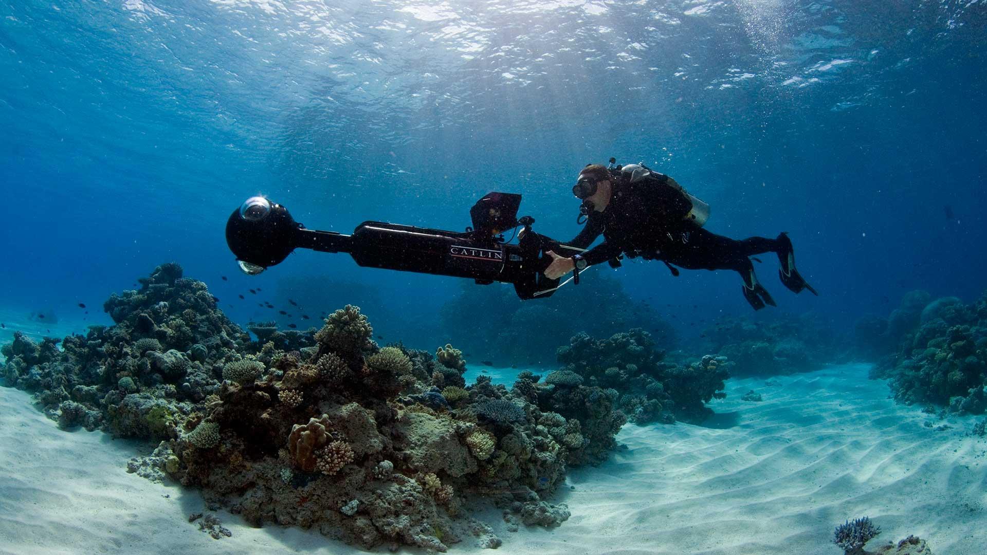 دیدن دنیای زیر آب به صورت سیصد و شصت درجه توسط گوگل مپ